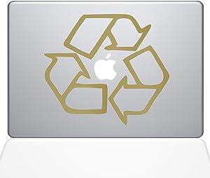 The Decal Guru Go Green Recycle MacBook Decal Vinyl Sticker - 13