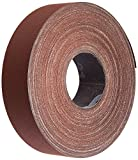 3M Utility Cloth Roll 314D, Aluminum Oxide, 1'' Width x 20 yds Length, P320 Grit, Maroon (Pack of 1)
