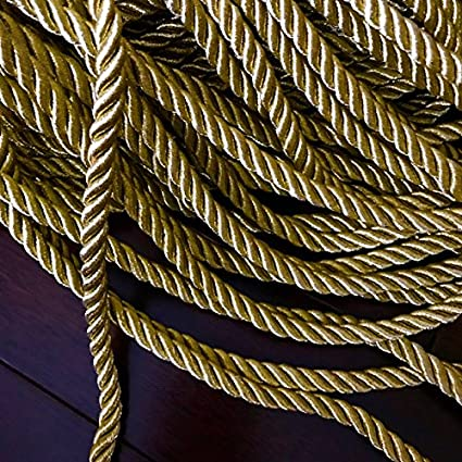 Gold color  braid select style and wide//selling by the yard