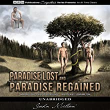 Paradise Lost & Paradise Regained Audiobook by John Milton Narrated by Philippe Duquenoy
