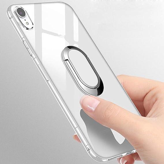 Amazon.com: Funda transparente para iPhone XR de 6,1 ...
