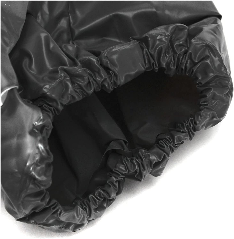 Heavy Duty Fitness Gewicht Verlust Anzuege PVC Sauna Anzug Fitness Studio Schwarz XL-Code TOOGOO R Saunaanzug