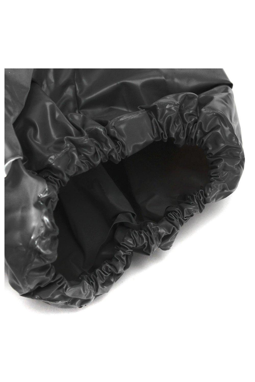 Traje de sauna - TOOGOO(R) Traje de sauna de altas prestaciones para la perdida de peso de sudor de ejercocio en gimnasio Anti-Rip Negro 2XL: Amazon.es: ...