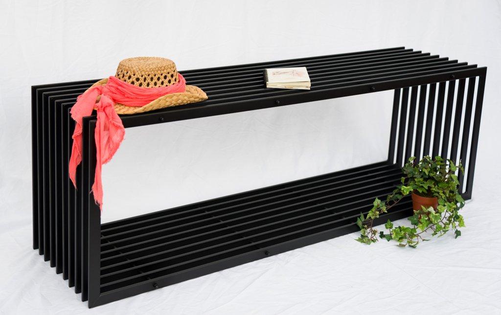 D-Stil banco de 150 cm Diseño de banco de jardín 10103 banco de ...