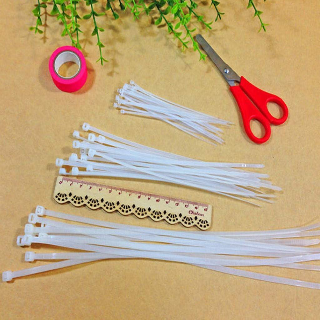 Indoor and Outdoor Resistant,Locking Cable Metal Zip Ties Cable Zip Ties Ties Nylon Black tie Wraps