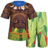AmzBarley Maui Boys Pajamas Sets with Tops and Bottoms PJS Kids Sleepwear Moana Age 2-3 Years Size 2T