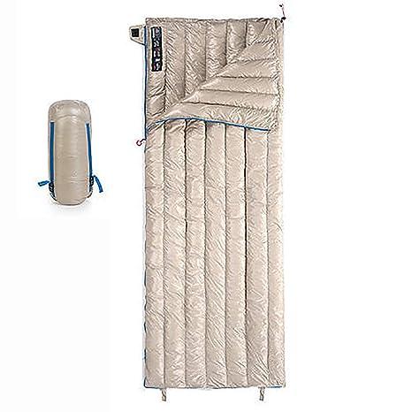 Saco De Dormir Abajo para Adultos Ultra Ligero Cálido Bolsa De Invierno para Acampar Al Aire