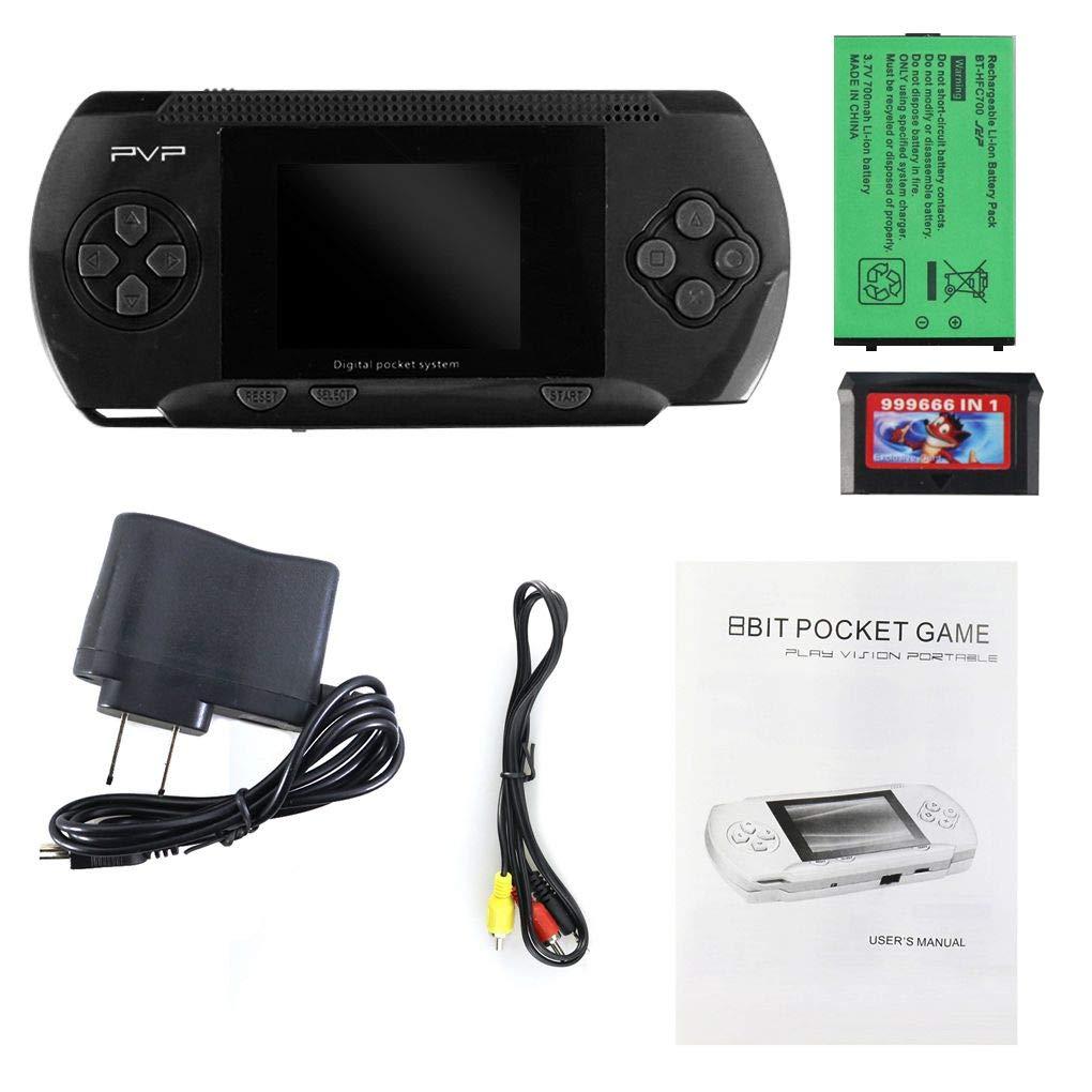 Firiodr 8 Bit Handheld Games Console PVP Portable Video Game Player 8 Bit Classics
