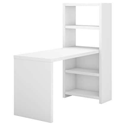 white office bookcase. Office By Kathy Ireland Echo 56W Bookcase Desk In Pure White White Office Bookcase