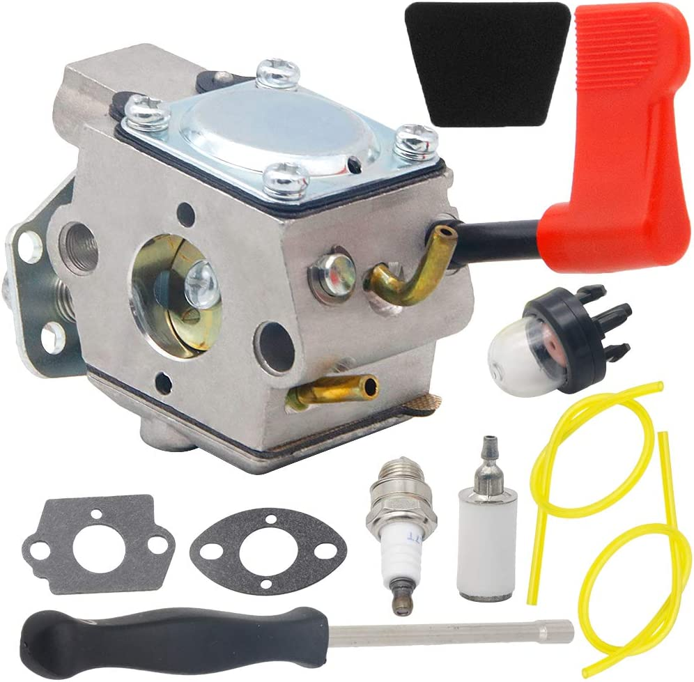 WT-628 Carburetor for Walbro WT-628-1 String Gas Carburetor Craftsman Poulan 530071636 530071637 530071403 530071405 530071565 PP446 PP446T SM131 32cc Grass Trimmer Pole Pruner Weed Eater Carburetor