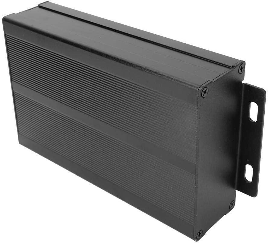 Black GPS Analyzer Housing KONGZIR 40x97x150mm Enclosure Electronic DIY Circuit Board Project Protective Box Aluminum Cooling Case for Power Amplifier Aluminum Box