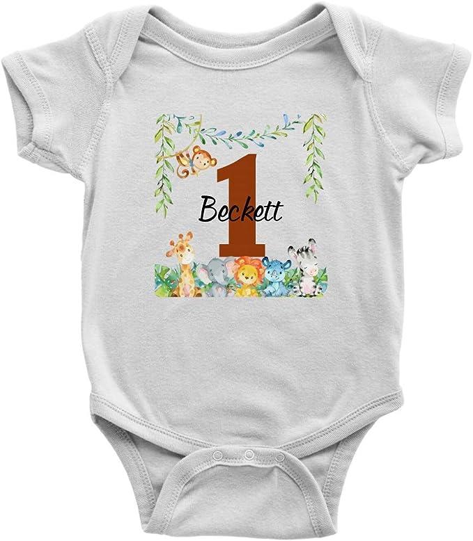 Camisa de cumpleaños Safari Jungle, Personalizada, para ...