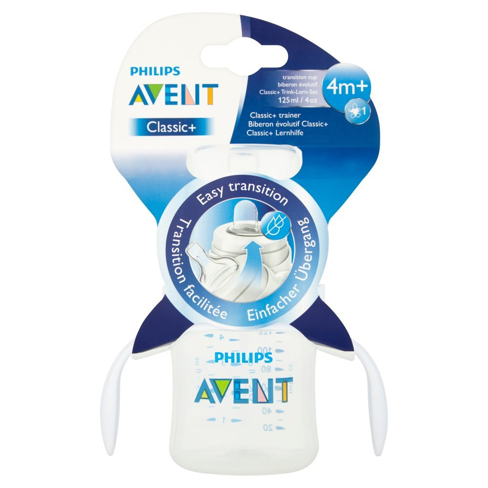 Philips Avent Classic and Bottle To Cup Trainer Kit, 4 months+