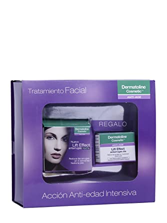Dermatoline Cosmetic - Estuche de regalo lift effect antiarrugas noche: Amazon.es