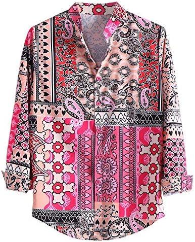 JinJ Armbänder Camisas Herren Hemd Sommer Mode Casual Hemd Tops Bluse Herren Hawaii Hemd