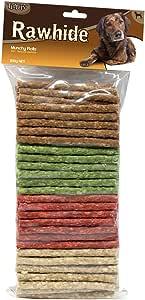 Playmate Rawhide Munchy Roll Sticks Treat 100pk