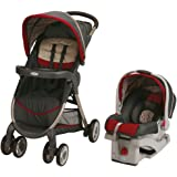 Graco Fastaction Fold Click Connect Travel System Stroller, Finley