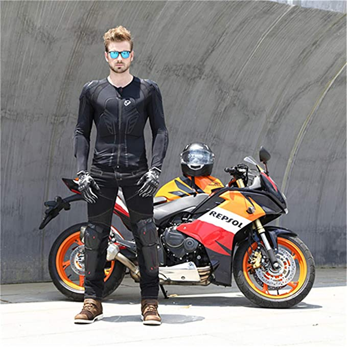 Amazon.com: Motocross Protector Jaqueta Moto Motorbike ...
