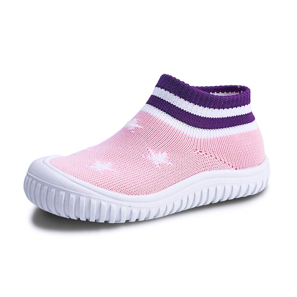 Z.SUO Toddler Baby Girls Boys Shoes Infant First Walkers Sneakers (7-7.5 M US Toddler, Pink1)