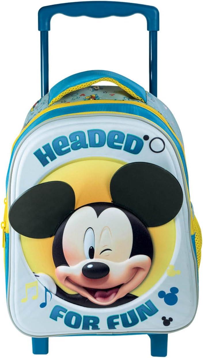 Diakakis 000561968 Trolley Bag 3D 31X27X10Cm Mickey 2 Cases Multicolored 31 x 27 x 10 cm