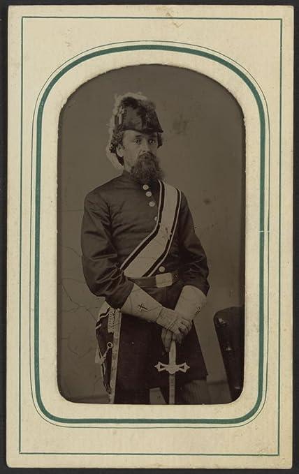 Amazon com: 1860 Photo Unidentified man in Masonic regalia including