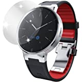 dipos Alcatel One Touch Watch Schutzfolie (6 Stück) - kristallklare Premium Folie Crystalclear