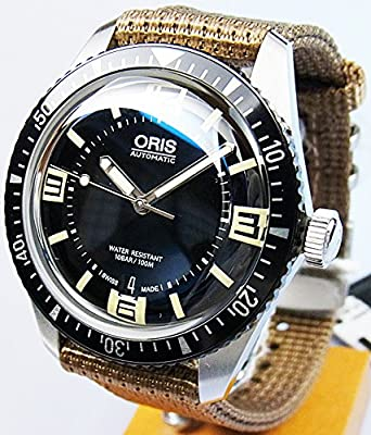 separation shoes 10978 258aa Amazon | ORIS (オリス) 腕時計 ダイバーズ65(Divers Sixty ...