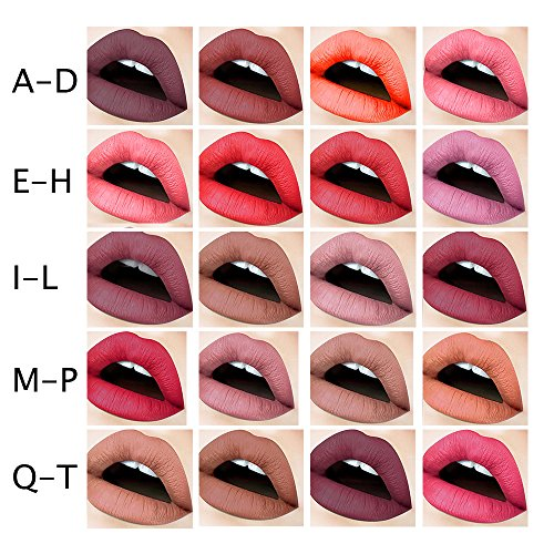 Amazon.com: Long Lasting Lip Gloss Lips Mate Professional Makeup B for Women by TOPUNDER: Beauty
