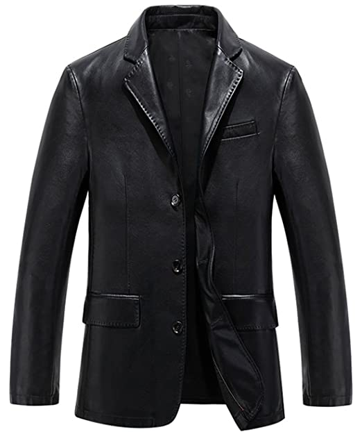 athx hombre único breasted abrigo largo de traje de funda de ...