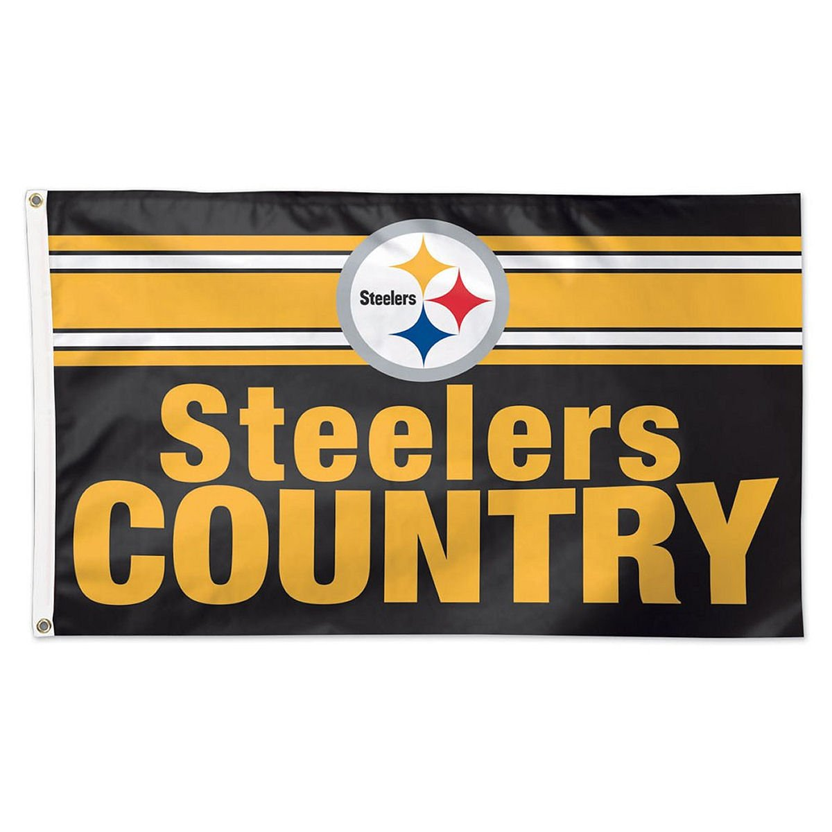 Amazon.com : WinCraft NFL Pittsburgh Steelers Steelers Country Flag ...