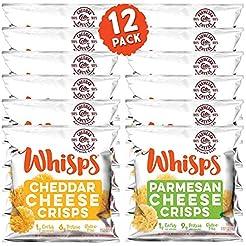 Whisps Cheese Crisps Single Serve 12 Pac...