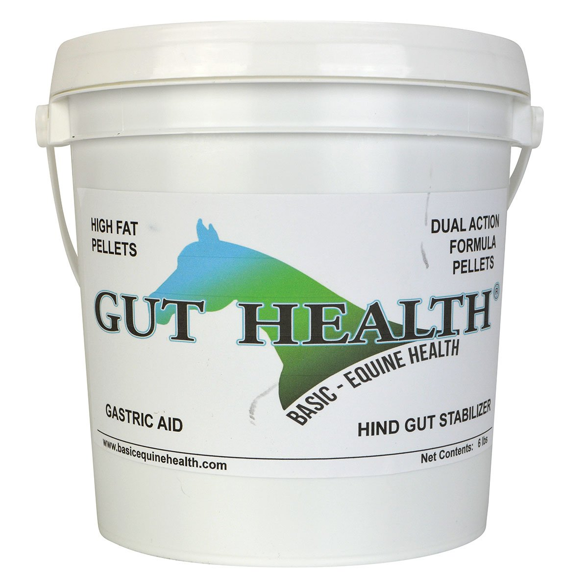 Gut Health Horse Supplements - Original Peak Performance Top Dress Pellets (6 lbs) - Ulcer Aid for Horses That Promotes Hoof Growth, Weight Gain, Improved Mood, and Coat Growth