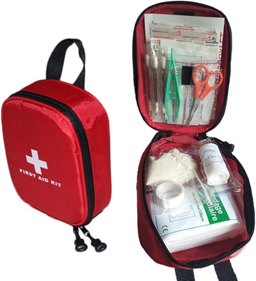 Syfinee Kit de Primeros Auxilios Portátil Bolsa Emergencia en el Hogar Rescate Médico Estuche Caja