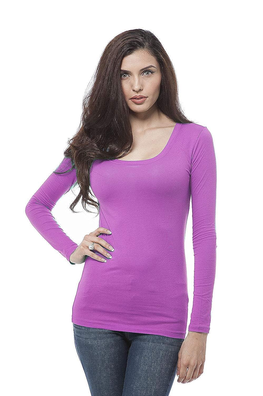 218 arfurt Women's Long Sleeve Button Down Casual Dress Shirt Business Blouse