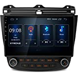XTRONS Android 10.0 Car Stereo Radio Player 10.1 Inch IPS Touch Screen GPS Navigation Built-in DSP Bluetooth Head Unit Suppor