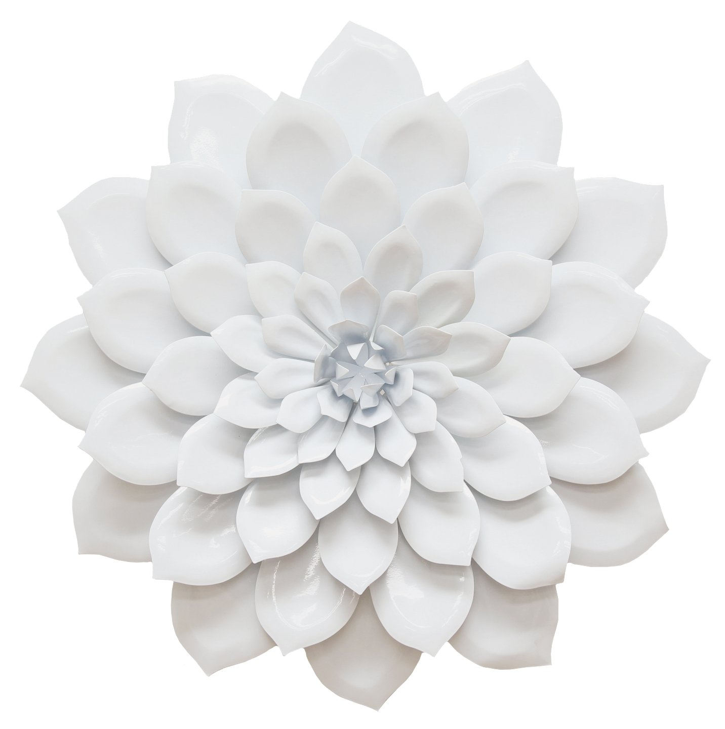 Amazon.com: Stratton Home Decor SHD0018 Layered Flower Wall Decor: Home U0026  Kitchen