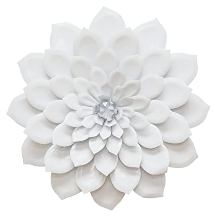 Amazon.com: Stratton Home Decor SHD0018 Layered Flower Wall Decor ...