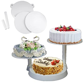 Acecoree 3 Tier Wedding Cake Stand Cupcake And Dessert Tower For 18th 21st