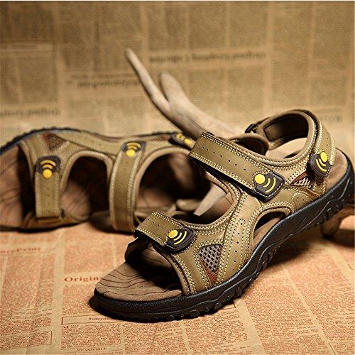 3 Sandalias para tamaño 1 Verdes 0 Beach 24 41 27 0 CM Verde Shoe Transpirables Al Magic Stick Color Sandalia Hombre EU Libre Verde Aire ApwdBzzq