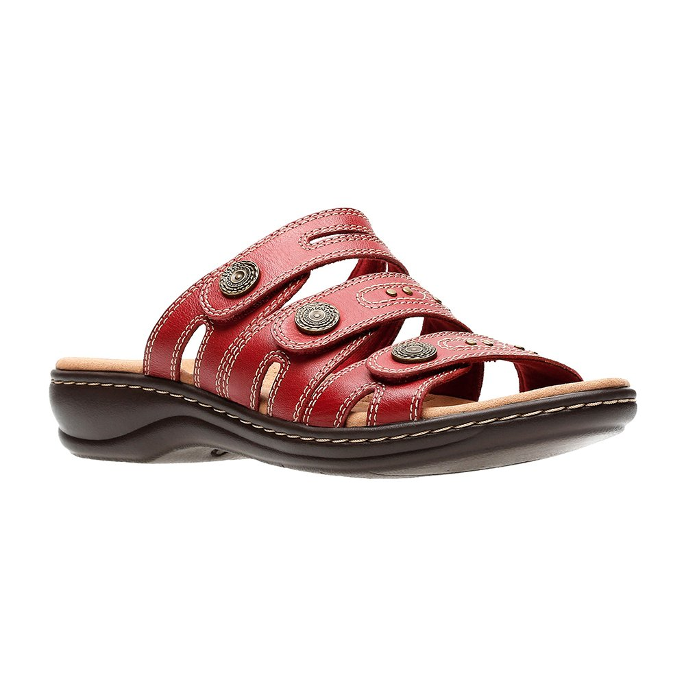 CLARKS Leisa Lakia Women's Sandal B078HMGZZ1 7 M US|Red