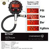 DIYCO Model D0 Amber LCD | Digital Tire Pressure