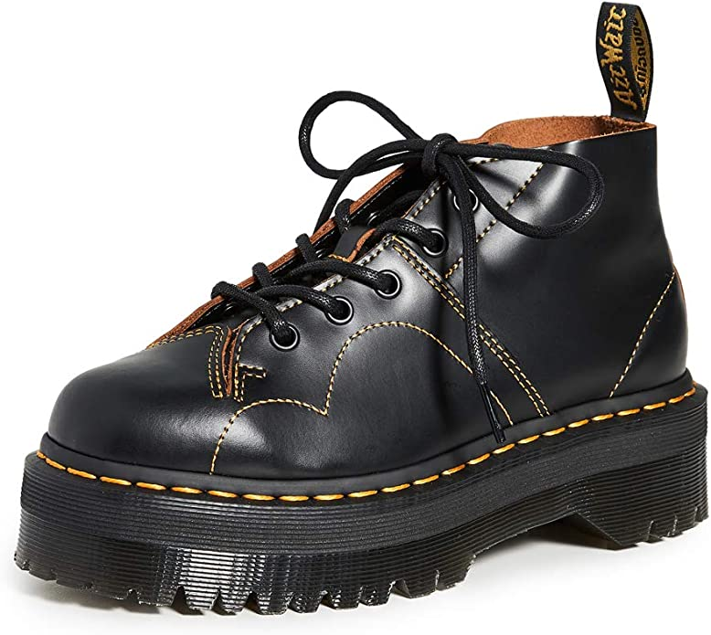 super quality speical offer top fashion Dr. Martens Women's Church Quad 5 Eye Boots