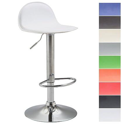 CLP Sgabello design LANA V2, sedia cucina con poggiapiedi, sgabello ...