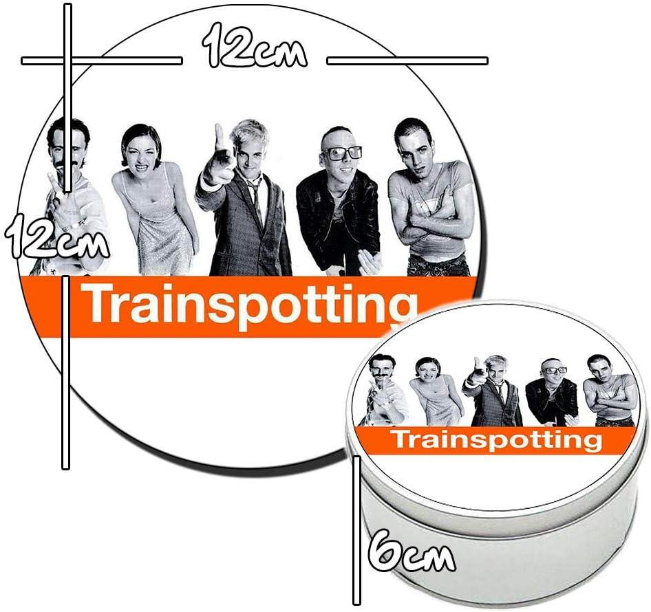 MasTazas Trainspotting Ewan McGregor Jonny Lee Miller Bo/îte M/étallique en Fer-Blanc Metal Tin Box