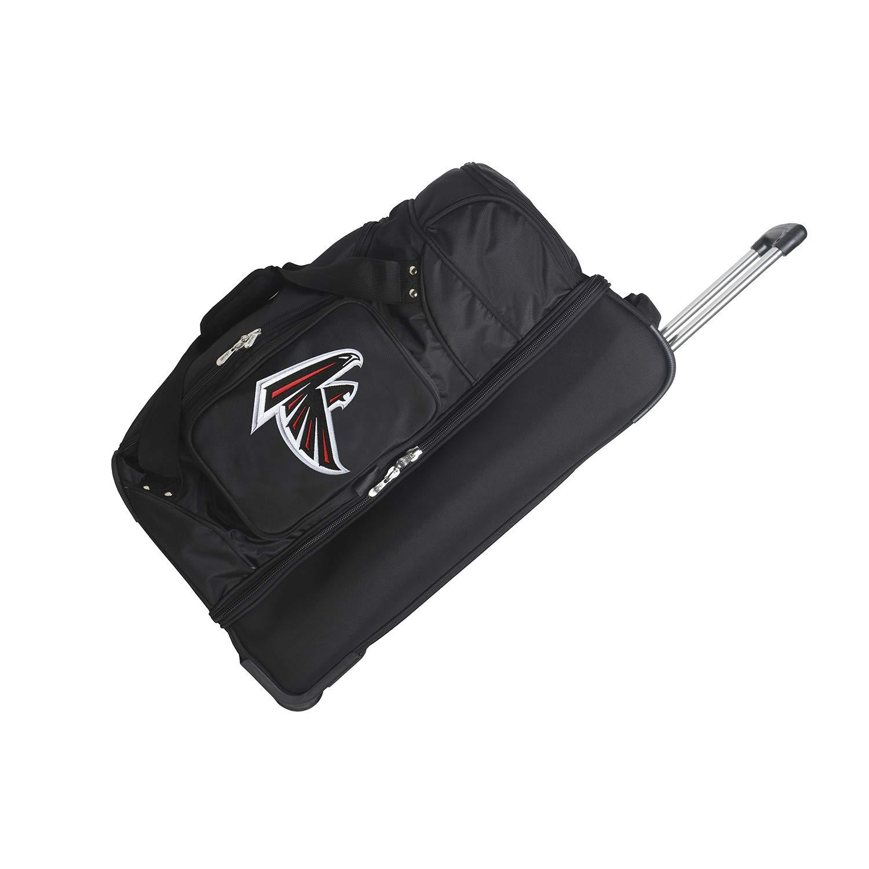 NFL Atlanta Falcons Rolling Drop-Bottom Duffel Bag, 27-inches