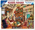 White Mountain Puzzles Readers Paradise Jigsaw Puzzle (1000 Piece) by White Mountain Puzzles, Inc.