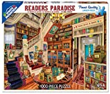 White Mountain Puzzles Readers Paradise Jigsaw Puzzle (1000 Piece)