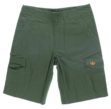 Adidas Mens Adidas Originals Workwear Cargo Shorts Army Green S