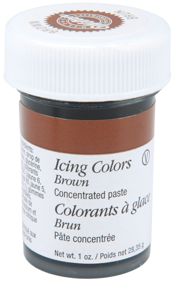 Wilton Icing Colors, 1-Ounce, Burgundy W610-698