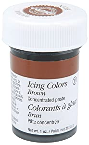 Wilton Icing Colors, 1-Ounce, Brown